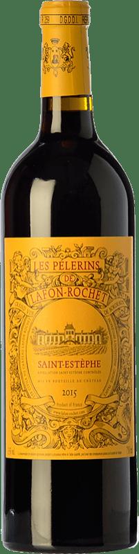 21,95 € Free Shipping | Red wine Château Lafon Rochet Les Pélerins Crianza A.O.C. Saint-Estèphe Bordeaux France Merlot, Cabernet Sauvignon Bottle 75 cl