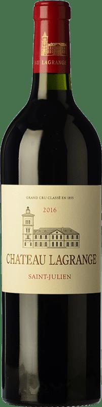 63,95 € Envío gratis | Vino tinto Château Lagrange Crianza A.O.C. Saint-Julien Burdeos Francia Merlot, Cabernet Sauvignon, Petit Verdot Botella 75 cl