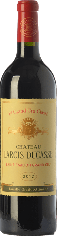 99,95 € Free Shipping | Red wine Château Larcis Ducasse Crianza A.O.C. Saint-Émilion Grand Cru Bordeaux France Merlot, Cabernet Franc Bottle 75 cl