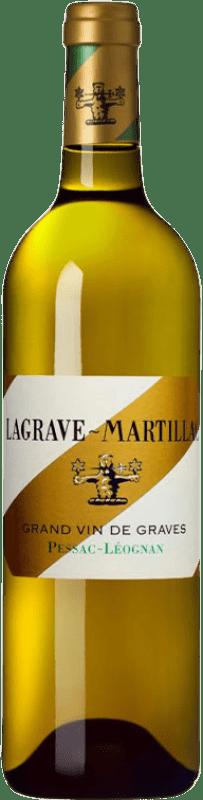 24,95 € Envío gratis | Vino blanco Château Latour-Martillac Lagrave-Martillac Blanc Crianza A.O.C. Pessac-Léognan Burdeos Francia Sauvignon Blanca, Sémillon Botella 75 cl