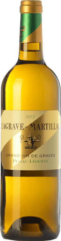 24,95 € Free Shipping | White wine Château Latour-Martillac Lagrave-Martillac Blanc Crianza A.O.C. Pessac-Léognan Bordeaux France Sauvignon White, Sémillon Bottle 75 cl