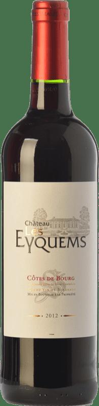 9,95 € Free Shipping   Red wine Château Les Eyquems Crianza A.O.C. Côtes de Bourg Bordeaux France Merlot Bottle 75 cl