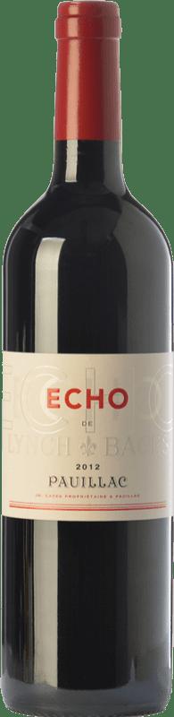 51,95 € Free Shipping | Red wine Château Lynch Bages Écho Crianza A.O.C. Pauillac Bordeaux France Merlot, Cabernet Sauvignon, Cabernet Franc Bottle 75 cl