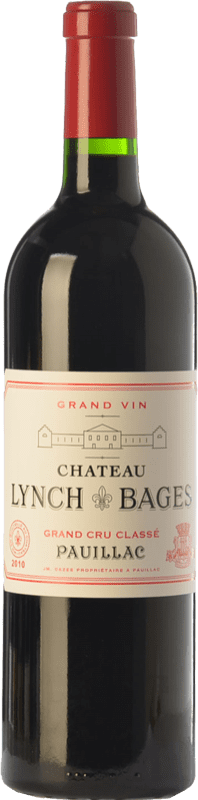 164,95 € Free Shipping | Red wine Château Lynch Bages Crianza A.O.C. Pauillac Bordeaux France Merlot, Cabernet Sauvignon, Cabernet Franc, Petit Verdot Bottle 75 cl