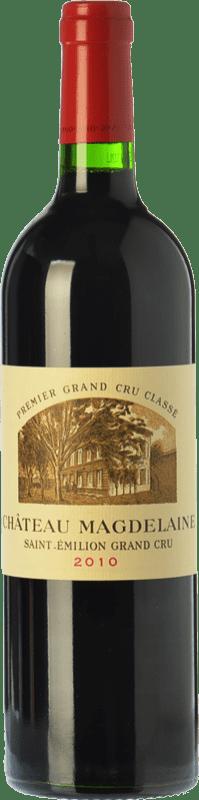 123,95 € Free Shipping | Red wine Château Magdelaine Crianza 2010 A.O.C. Saint-Émilion Grand Cru Bordeaux France Merlot, Cabernet Franc Bottle 75 cl