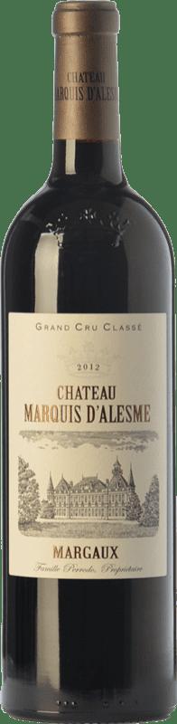 65,95 € Free Shipping | Red wine Château Marquis d'Alesme Becker Crianza A.O.C. Margaux Bordeaux France Merlot, Cabernet Sauvignon, Petit Verdot Bottle 75 cl