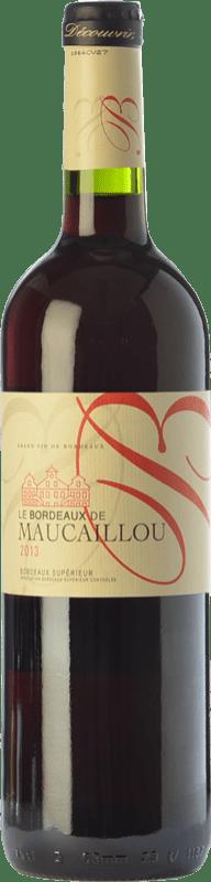 8,95 € Free Shipping | Red wine Château Maucaillou Crianza A.O.C. Bordeaux Supérieur Bordeaux France Merlot, Cabernet Sauvignon, Petit Verdot Bottle 75 cl