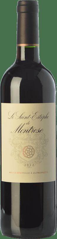33,95 € Envío gratis | Vino tinto Château Montrose Crianza A.O.C. Saint-Estèphe Burdeos Francia Merlot, Cabernet Sauvignon Botella 75 cl