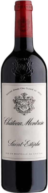 205,95 € Envío gratis | Vino tinto Château Montrose Crianza A.O.C. Saint-Estèphe Burdeos Francia Merlot, Cabernet Sauvignon, Cabernet Franc, Petit Verdot Botella 75 cl