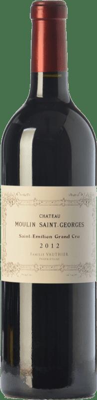 46,95 € 免费送货 | 红酒 Château Moulin Saint-Georges Reserva A.O.C. Saint-Émilion Grand Cru 波尔多 法国 Merlot, Cabernet Sauvignon, Cabernet Franc 瓶子 75 cl