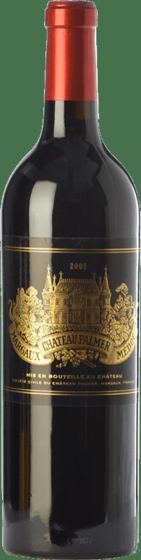365,95 € Free Shipping | Red wine Château Palmer Reserva A.O.C. Margaux Bordeaux France Merlot, Cabernet Sauvignon, Petit Verdot Bottle 75 cl