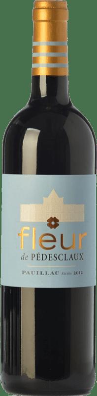 35,95 € | Red wine Château Pédesclaux Fleur Crianza A.O.C. Pauillac Bordeaux France Merlot, Cabernet Sauvignon, Petit Verdot Bottle 75 cl