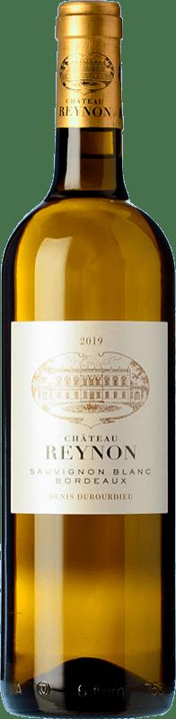 9,95 € 免费送货   白酒 Château Reynon Blanc Crianza A.O.C. Bordeaux 波尔多 法国 Sauvignon White 瓶子 75 cl