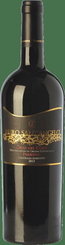 38,95 € Free Shipping | Red wine Chiaromonte Contrada Barbatto D.O.C. Gioia del Colle Puglia Italy Primitivo Bottle 75 cl