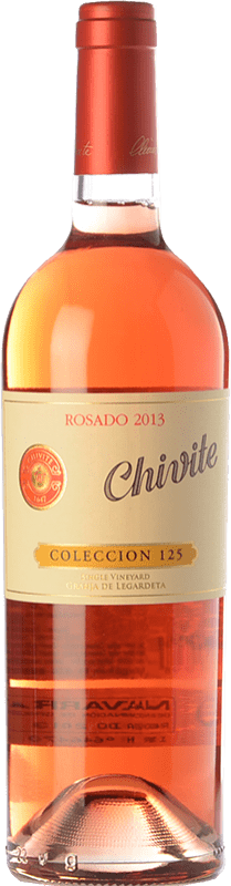 31,95 € Free Shipping | Rosé wine Chivite Colección 125 D.O. Navarra Navarre Spain Tempranillo, Grenache Bottle 75 cl