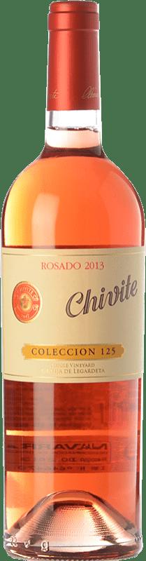 31,95 € Envío gratis | Vino rosado Chivite Colección 125 D.O. Navarra Navarra España Tempranillo, Garnacha Botella 75 cl