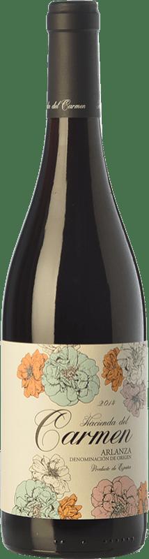 11,95 € Free Shipping | Red wine Cillar de Silos Hacienda del Carmen Joven D.O. Arlanza Castilla y León Spain Tempranillo Bottle 75 cl
