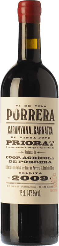 18,95 € | Red wine Cims de Porrera Vi de Vila Crianza D.O.Ca. Priorat Catalonia Spain Grenache, Carignan Bottle 75 cl