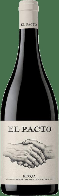14,95 € 免费送货 | 红酒 Classica El Pacto Crianza D.O.Ca. Rioja 拉里奥哈 西班牙 Tempranillo, Grenache 瓶子 75 cl