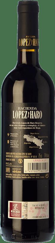 8,95 € Free Shipping   Red wine Classica Hacienda López de Haro Reserva D.O.Ca. Rioja The Rioja Spain Tempranillo, Graciano Bottle 75 cl