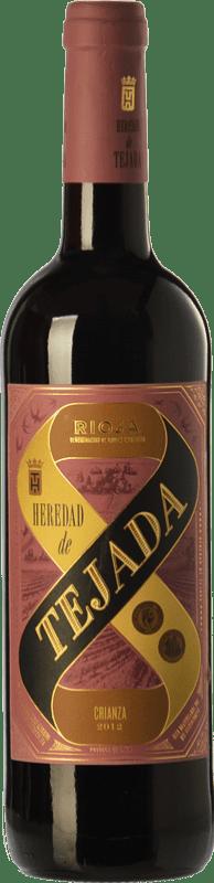 4,95 € Free Shipping | Red wine Classica Heredad de Tejada Crianza D.O.Ca. Rioja The Rioja Spain Tempranillo Bottle 75 cl