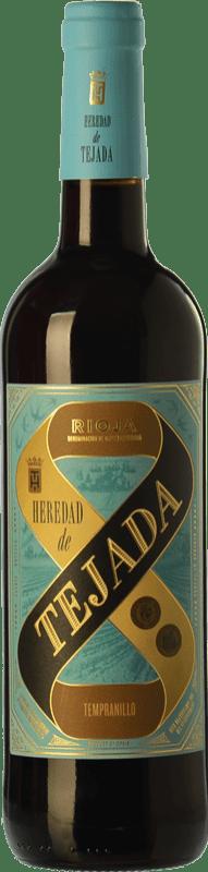 5,95 € 免费送货 | 红酒 Classica Heredad de Tejada Joven D.O.Ca. Rioja 拉里奥哈 西班牙 Tempranillo 瓶子 75 cl