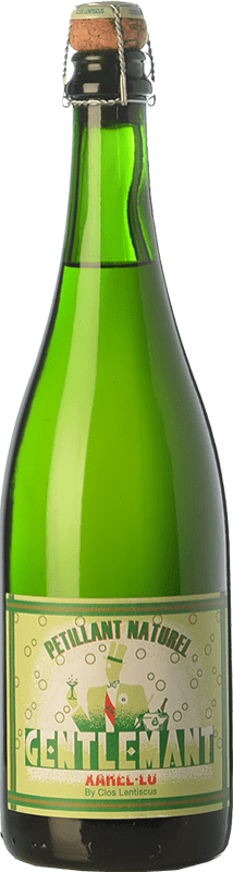 19,95 € | White sparkling Clos Lentiscus Gentlemant Spain Xarel·lo Bottle 75 cl