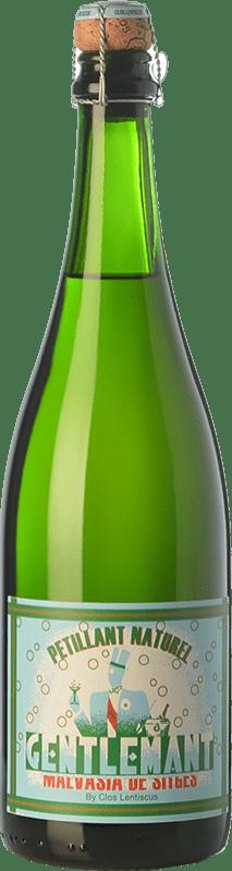 17,95 € Free Shipping | White sparkling Clos Lentiscus Gentlemant Spain Malvasía de Sitges Bottle 75 cl