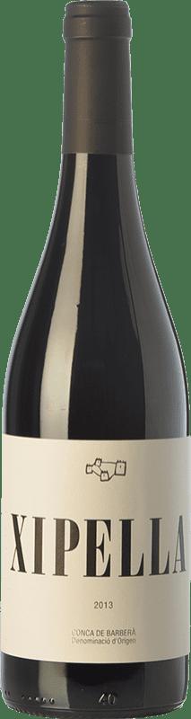 9,95 € | Red wine Clos Montblanc Xipella Únic Crianza D.O. Conca de Barberà Catalonia Spain Syrah, Grenache, Monastrell, Samsó Bottle 75 cl