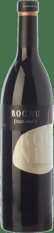 28,95 € | Red wine Clos Pons Roc Nu Crianza D.O. Costers del Segre Catalonia Spain Tempranillo, Cabernet Sauvignon, Grenache White Bottle 75 cl