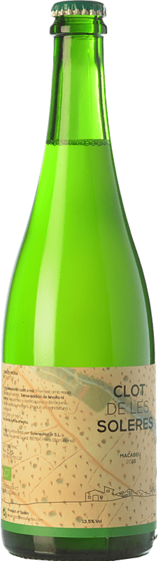 14,95 € Free Shipping   White wine Clot de les Soleres Macabeu D.O. Penedès Catalonia Spain Macabeo Bottle 75 cl