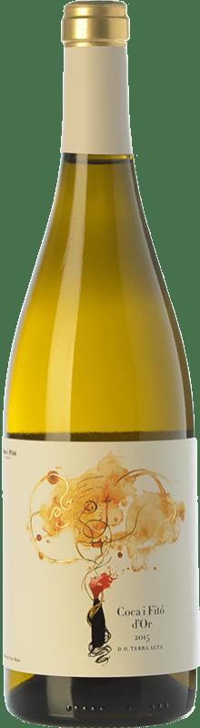 18,95 € Envío gratis | Vino blanco Coca i Fitó d'Or Crianza D.O. Terra Alta Cataluña España Garnacha Blanca, Macabeo Botella 75 cl