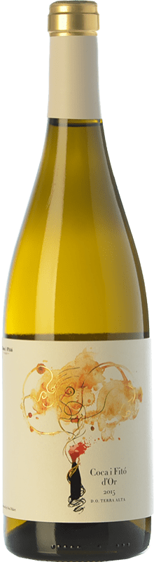 18,95 € | White wine Coca i Fitó d'Or Crianza D.O. Terra Alta Catalonia Spain Grenache White, Macabeo Bottle 75 cl