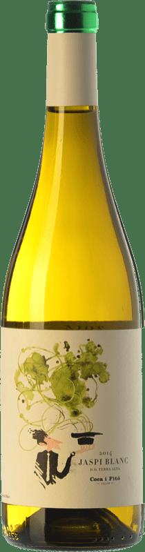 9,95 € Free Shipping | White wine Coca i Fitó Jaspi Blanc D.O. Terra Alta Catalonia Spain Grenache White, Macabeo Bottle 75 cl