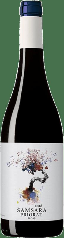 18,95 € Free Shipping | Red wine Coca i Fitó Samsara Crianza D.O.Ca. Priorat Catalonia Spain Syrah, Grenache, Cabernet Sauvignon, Carignan Bottle 75 cl