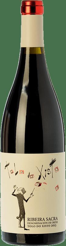 18,95 € Envío gratis | Vino tinto Coca i Fitó Tolo do Xisto Joven D.O. Ribeira Sacra Galicia España Mencía Botella 75 cl