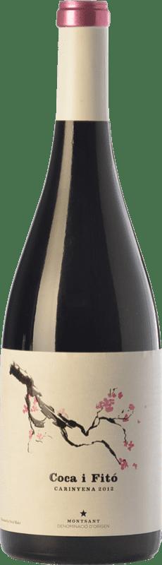 31,95 € Envoi gratuit | Vin rouge Coca i Fitó Carinyena Crianza D.O. Montsant Catalogne Espagne Carignan Bouteille 75 cl