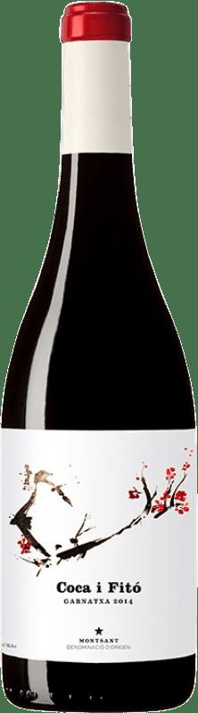 25,95 € Envío gratis | Vino tinto Coca i Fitó Garnatxa Crianza D.O. Montsant Cataluña España Garnacha Botella 75 cl