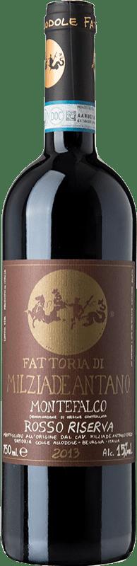 25,95 € Free Shipping | Red wine Colleallodole Rosso Riserva Reserva D.O.C. Montefalco Umbria Italy Merlot, Cabernet Sauvignon, Sangiovese, Sagrantino Bottle 75 cl