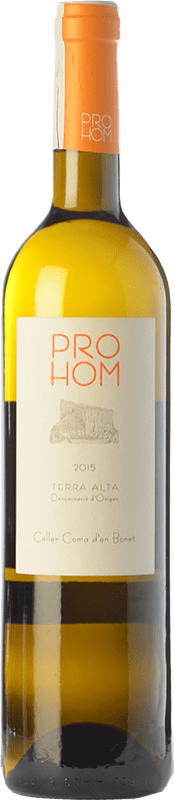 8,95 € | White wine Coma d'en Bonet Prohom Blanc D.O. Terra Alta Catalonia Spain Grenache White, Viognier Bottle 75 cl