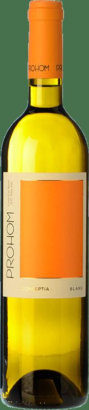 7,95 € | White wine Coma d'en Bonet Prohom Blanc D.O. Terra Alta Catalonia Spain Grenache White, Viognier Bottle 75 cl