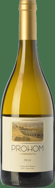 11,95 € | White wine Coma d'en Bonet Prohom Experientia Blanc Crianza D.O. Terra Alta Catalonia Spain Grenache White, Viognier Bottle 75 cl