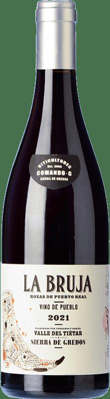 19,95 € 免费送货 | 红酒 Comando G La Bruja Avería Joven D.O. Vinos de Madrid 马德里社区 西班牙 Grenache 瓶子 75 cl