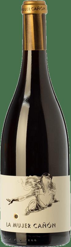 57,95 € 免费送货 | 红酒 Comando G La Mujer Cañón Crianza D.O. Vinos de Madrid 马德里社区 西班牙 Grenache 瓶子 75 cl