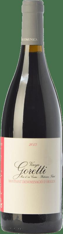 22,95 € Free Shipping | Red wine Comunica Vinya Goretti Crianza D.O. Montsant Catalonia Spain Carignan Bottle 75 cl