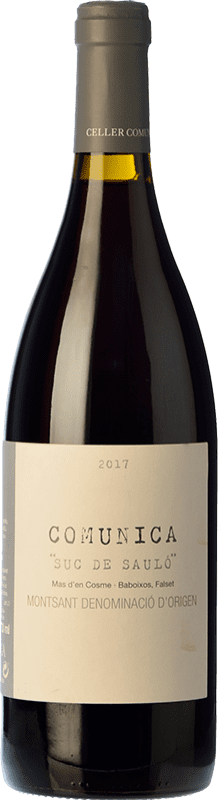 14,95 € | Red wine Comunica Joven D.O. Montsant Catalonia Spain Syrah, Grenache, Carignan Bottle 75 cl