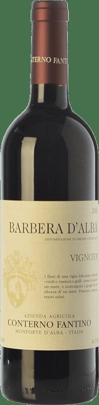 18,95 € | Red wine Conterno Fantino Vignota D.O.C. Barbera d'Alba Piemonte Italy Barbera Bottle 75 cl