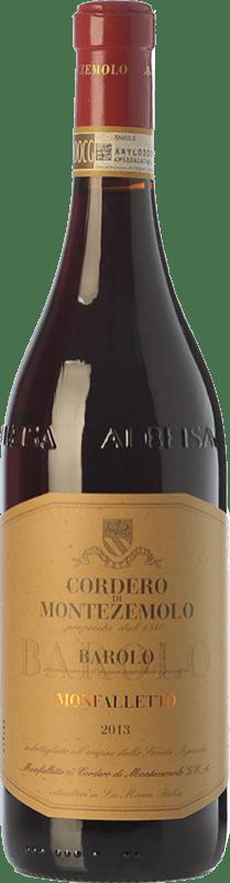 53,95 € Free Shipping | Red wine Cordero di Montezemolo Monfalletto D.O.C.G. Barolo Piemonte Italy Nebbiolo Bottle 75 cl