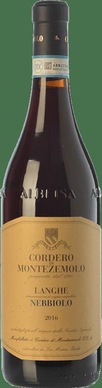 17,95 € Free Shipping | Red wine Cordero di Montezemolo D.O.C. Langhe Piemonte Italy Nebbiolo Bottle 75 cl