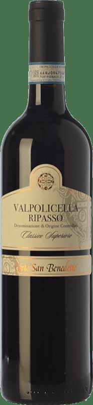 21,95 € Free Shipping | Red wine Corte San Benedetto Superiore D.O.C. Valpolicella Ripasso Veneto Italy Corvina, Rondinella, Corvinone Bottle 75 cl